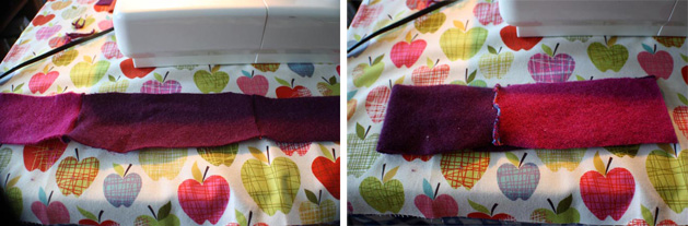 Felted Headband Step10