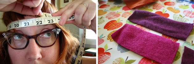 Felted Headband Step3