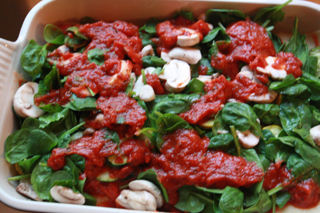 Lasagna Veggies
