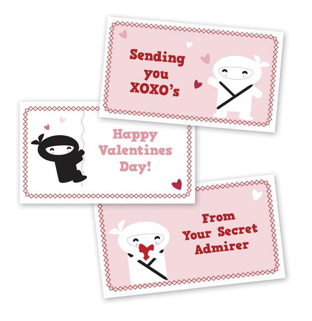 CRAFT Printables: Kawaii Mini Valentine Cards | Make: