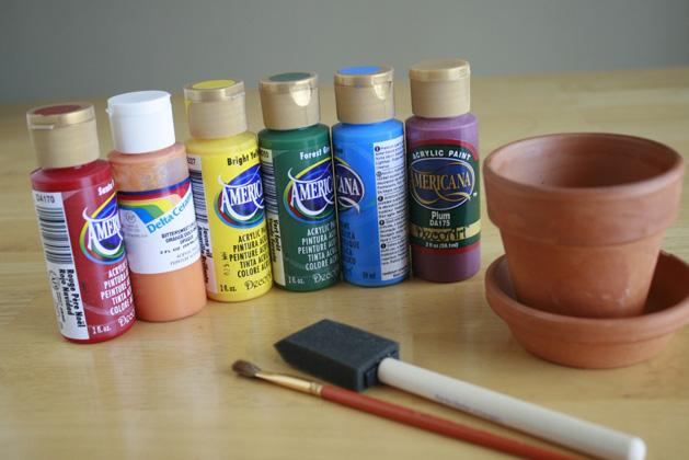 Rainbowpots Materials