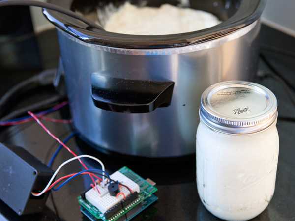 Make Volume 25 Arduino-Controlled Yogurt