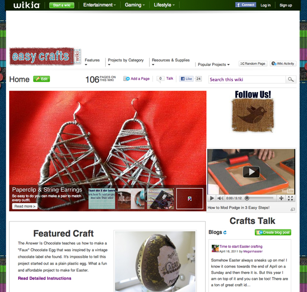 Easycrafts Homepage