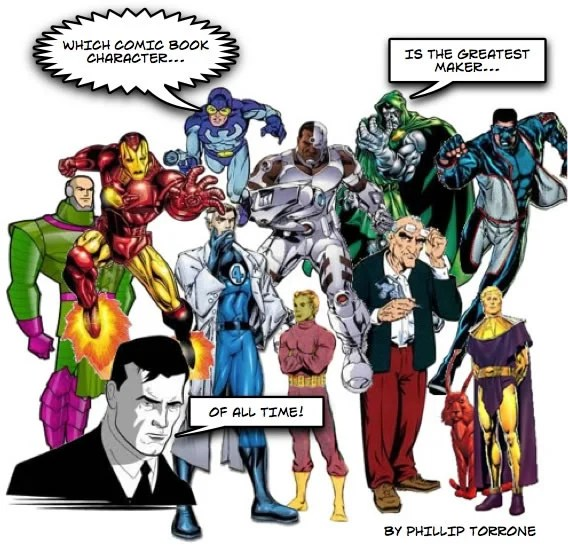 Which Comic Book Character Is The Greatest Maker Of All Time? | Make: