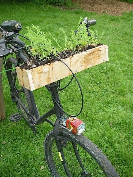 How-To: Bike Handlebar Planter