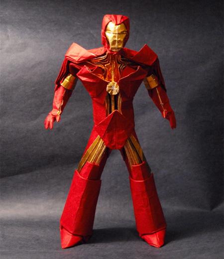 Amazing Iron Man Origami