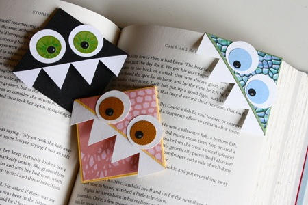 How-To: Monster Page-Corner Bookmarks | Make: