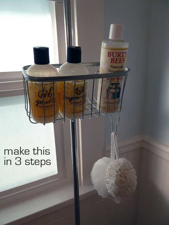 DIY Clawfoot Tub Shower Caddy | Make: