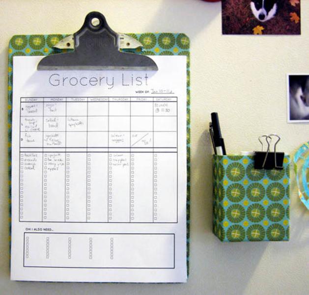 grocery planner clipboard organizing bazaar.jpg
