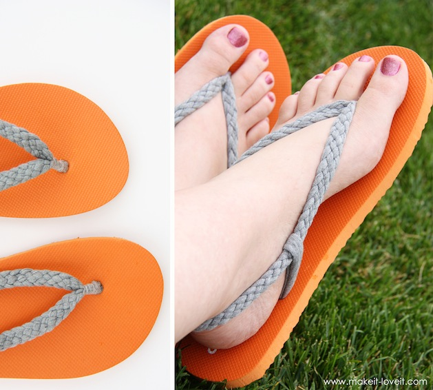 how to make flip flops