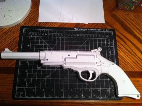 Papercraft Firefly Gun Make