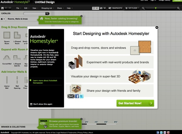 Autodesk homestyler easy to use between the lines 17 for Autodesk homestyler