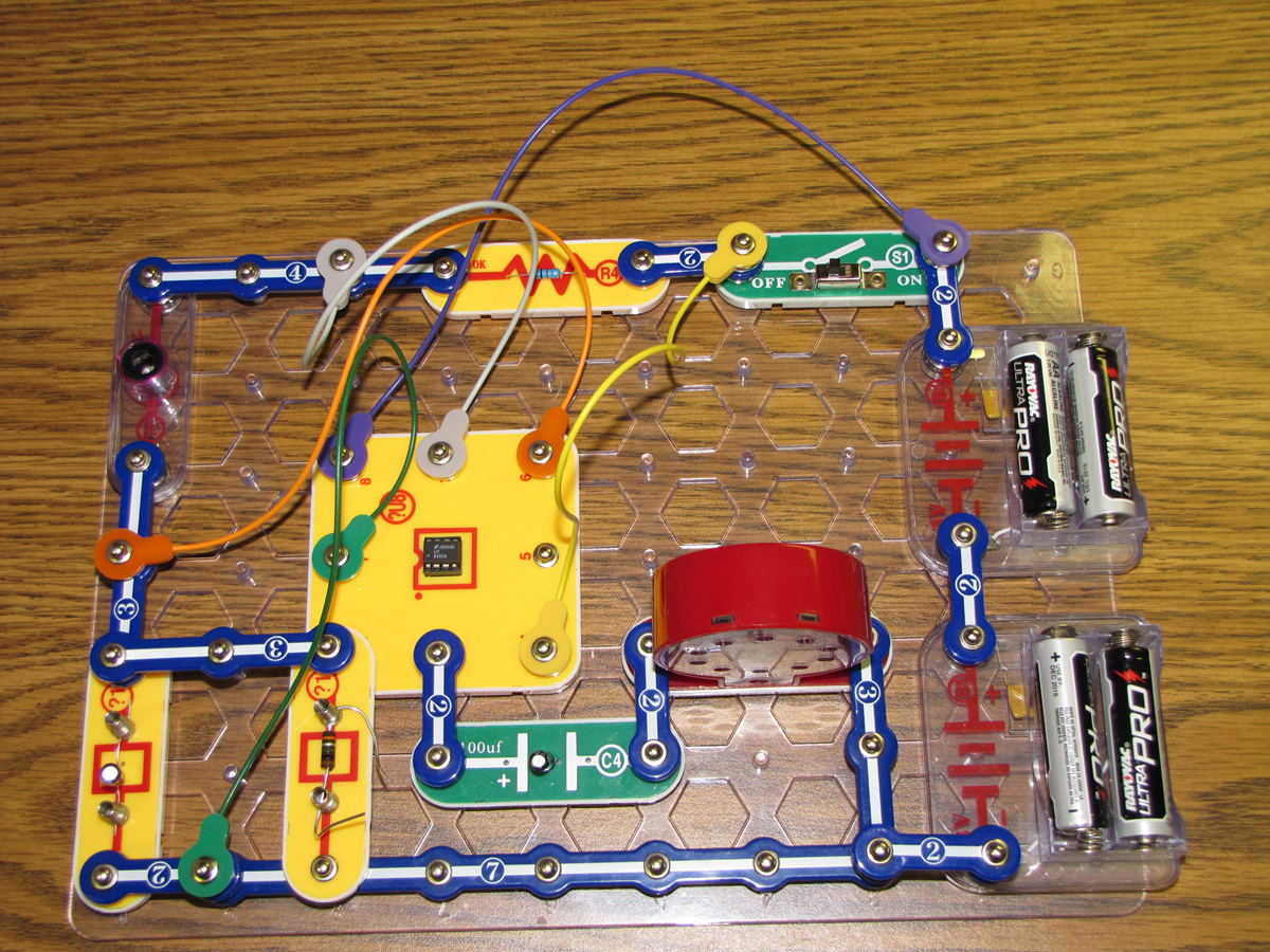 Snap Circuit Light Theremin Make By Elenco Ebeanstalk The Is Officially One Of Our Most Modded Weekend Projects So Far Suitable For Both Beginner And Novice Makers Dabbling In Electronics