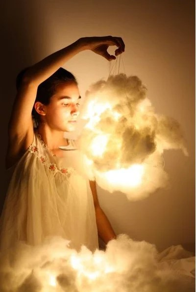 DIY Cloud Lamp