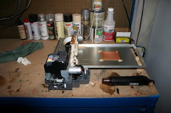 Converting An Inkjet Printer To Print PCBs | Make: