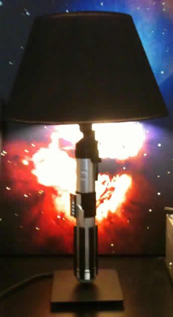 How To Light Saber Lamp Make