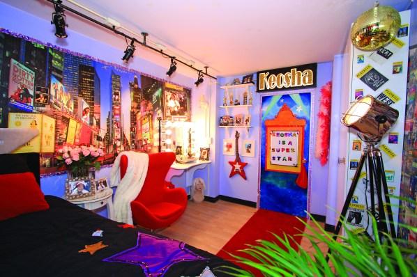 Keosha's room