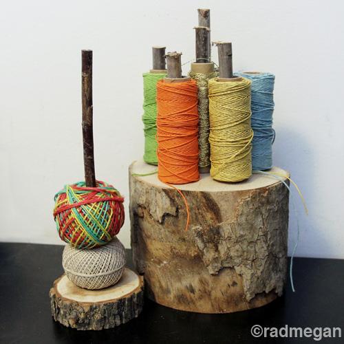 radmegan_wooden_stump_twine_organizer.jpg