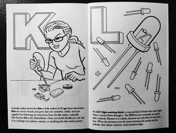 Adafruit\'s Electronic Coloring Book | Make: