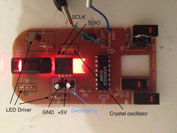 Turning A Cheap Optical Mouse Into A Robot Odometer Make