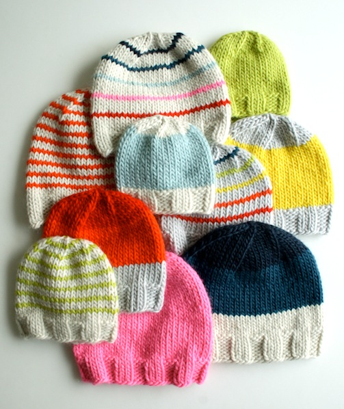 How-To  Knitted Hats for the Whole Family  cf5fb1e8c0d