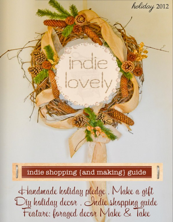 indie lovely holiday cover blog size