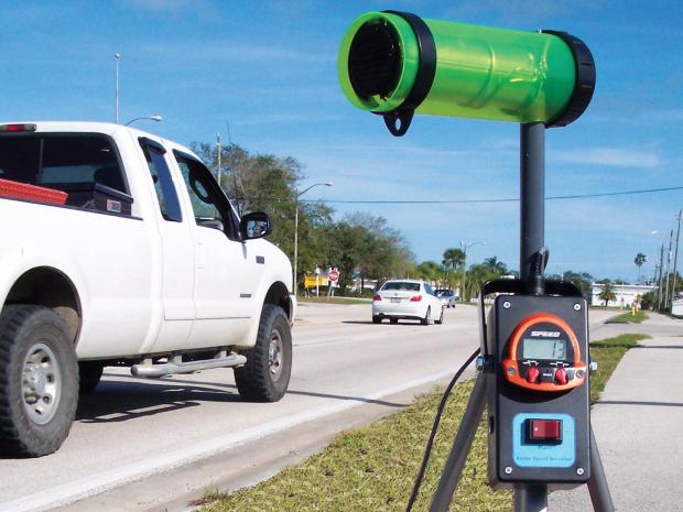 radar speed detector opener