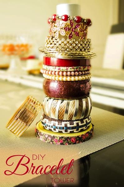 craftadoodledoo_DIY_bracelet_tower
