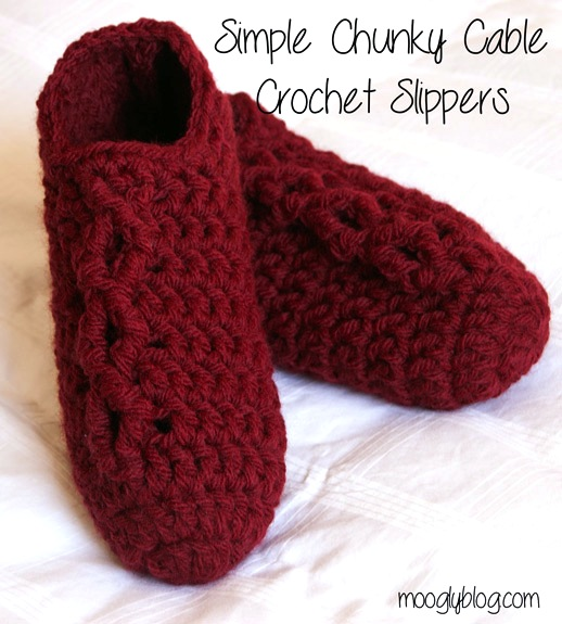 moogly_chunky_cable_crochet_slippers