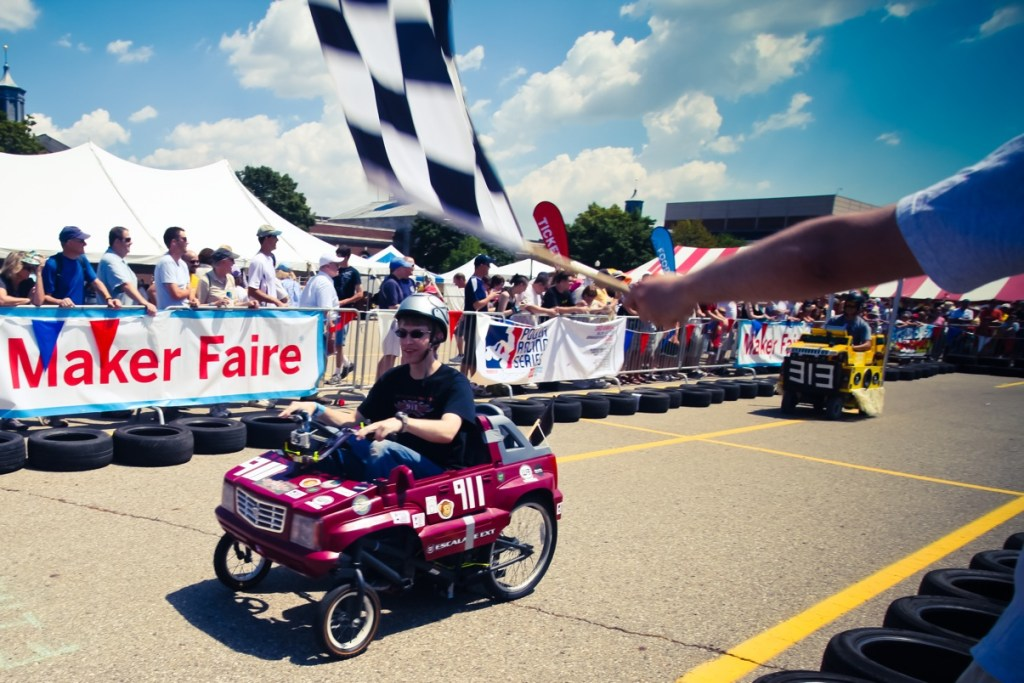 Power Racing Series at Maker Faire