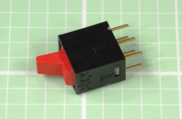 Subminiature paddle switch