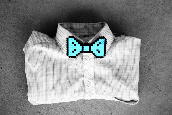 morningcreativity_perler_bead_bow_tie