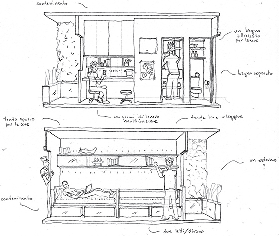 Freedom Room Sketch