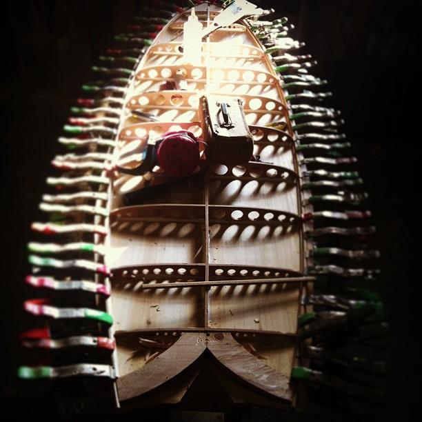 grains surfbord fish in progress