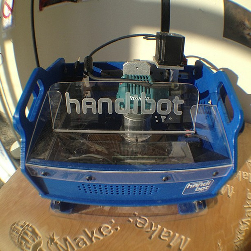 The new Handibot, from ShopBot Tools.