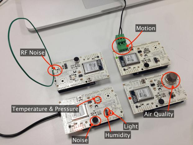 Google I/O Sensor Motes