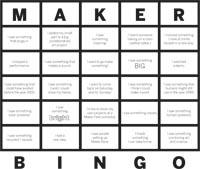 MakerFaireBingo
