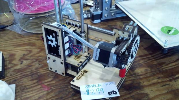 Printrbot Simple at Maker Faire