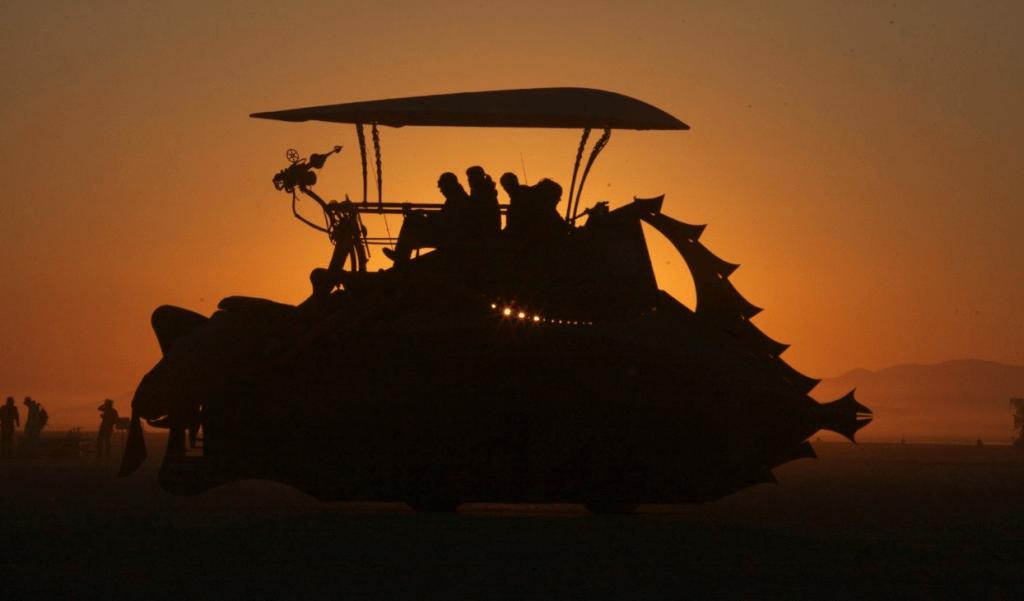 nautilus sub sunset