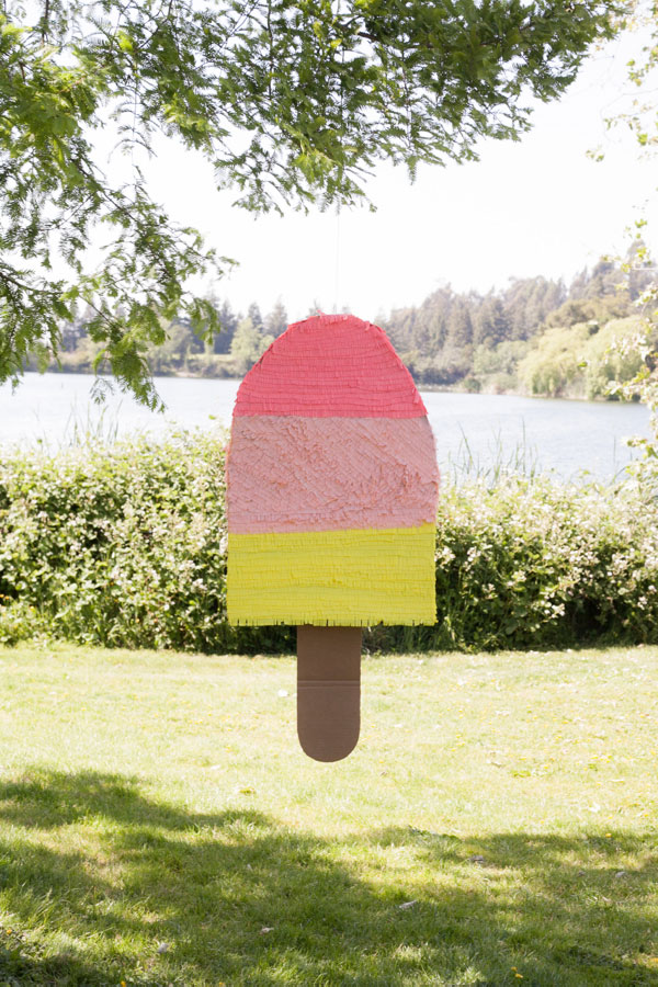 How-To: Giant Popsicle Pinata