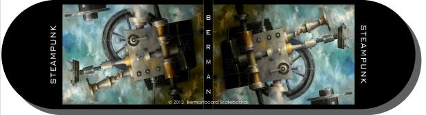 Steampunk - 9x34 - with shadow - biz card