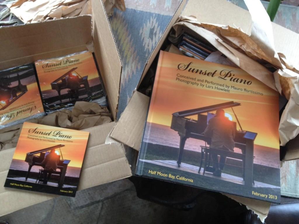 sunset piano book