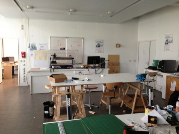 The main room in FAC LAB