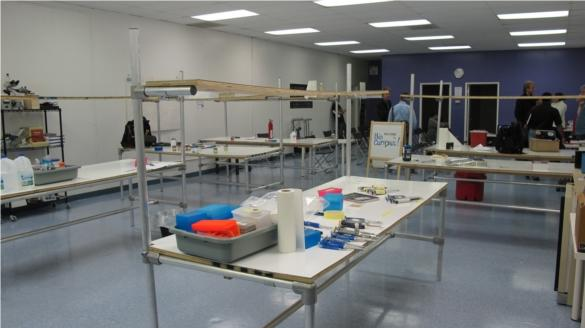 The BioCurious laboratory