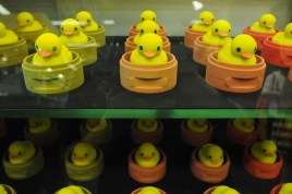 """Ducks in a row [courtesy of Toys """"R"""" Us Asia]"""