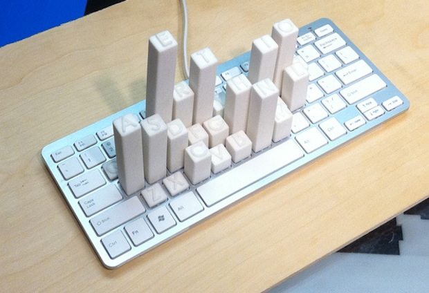 keyboard_frequency_sculpture