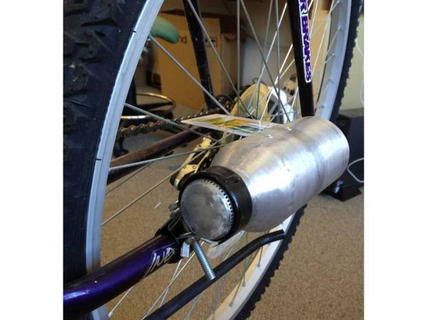 Bike Tail Pipe