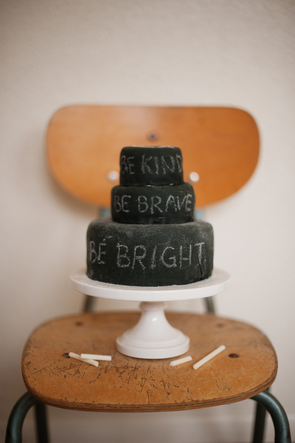 Recipe: Edible Chalkboard Cake and Candy Chalk