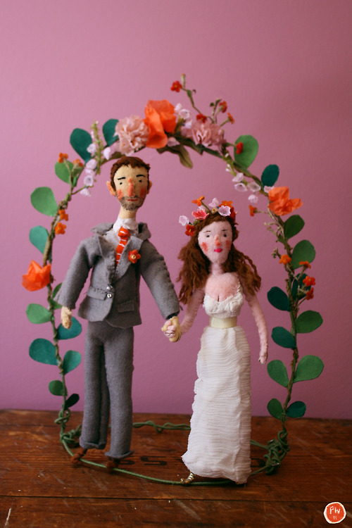 homemade-wedding-sculpture