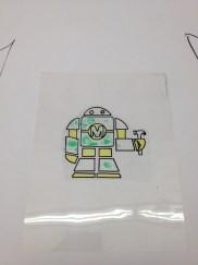 Maria Carrillo MC tshirt robot